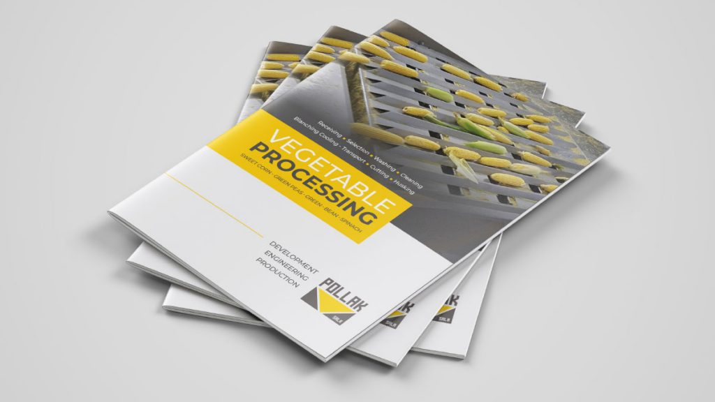 New brochure VEGETABLE PROCESSING_Food processing equipment, brožúra strojov a zariadení pre spracovanie zeleniny