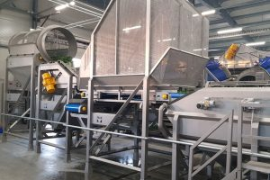 Spinach processing machines, Air Cleaner for spinach